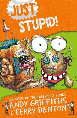 Cover for Just Stupid! by Andy Griffiths