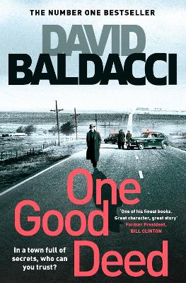 Cover for One Good Deed by David Baldacci