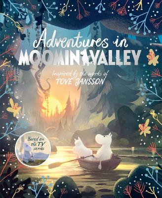 Cover for Adventures in Moominvalley by Amanda Li