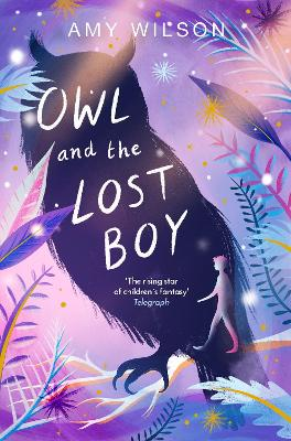 Cover for Owl and the Lost Boy by Amy Wilson