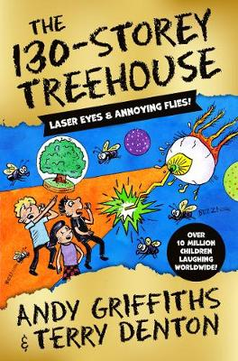 Cover for The 130-Storey Treehouse by Andy Griffiths