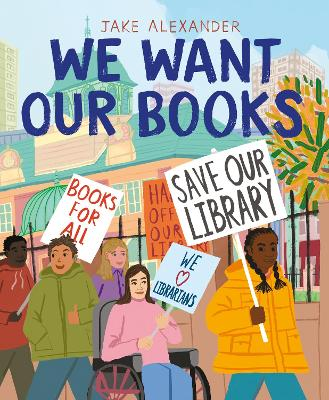 We Want Our Books