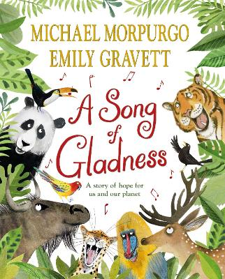 Cover for A Song of Gladness by Michael Morpurgo