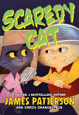 Cover for Scaredy Cat by James Patterson