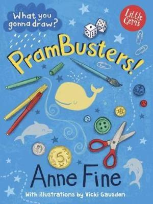 Cover for PramBusters! by Anne Fine