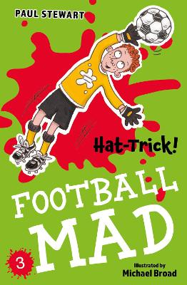 Cover for Hat-Trick by Paul Stewart