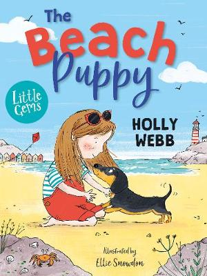 Cover for The Beach Puppy by Holly Webb