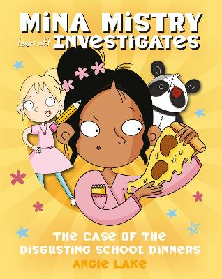 Cover for The Case of the Disgusting School Dinners  by Angie Lake