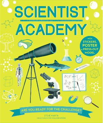 Cover for Scientist Academy by Steve Martin