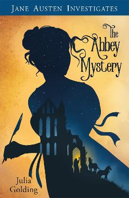 Cover for The Abbey Mystery by Julia Golding