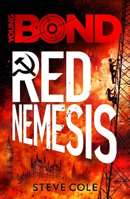 Cover for Red Nemesis by Steve Cole