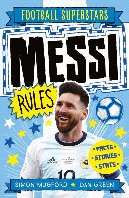 Book Cover for Messi Rules by Simon Mugford