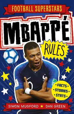 Book Cover for Mbappe Rules by Simon Mugford