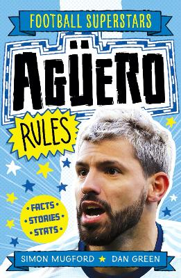 Book Cover for Aguero Rules by Simon Mugford