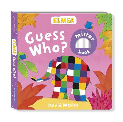 Book Cover for Elmer: Guess Who? by David McKee