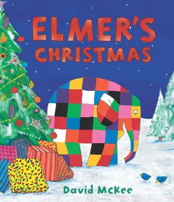Book Cover for Elmer's Christmas by David McKee