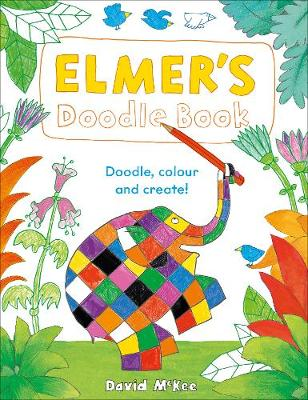 Book Cover for Elmer's Doodle Book  by David McKee