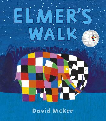 Book Cover for Elmer's Walk by David McKee