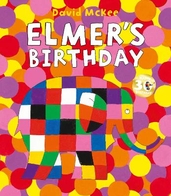 Book Cover for Elmer's Birthday by David McKee