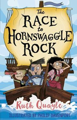 Cover for The Race to Hornswaggle Rock by Ruth Quayle