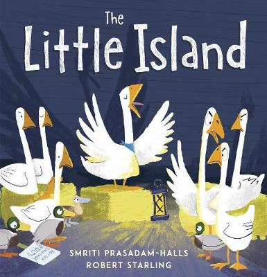 Cover for The Little Island by Smriti Prasadam-Halls