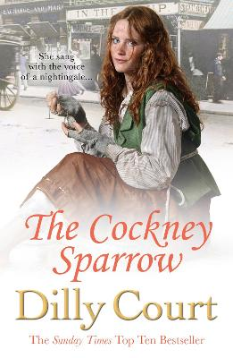 Book Cover for The Cockney Sparrow by Dilly Court