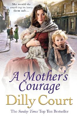 Book Cover for A Mother's Courage by Dilly Court