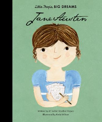 Book Cover for Jane Austen by Isabel Sanchez Vegara
