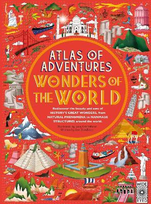 Cover for Atlas of Adventures: Wonders of the World by Ben Handicott