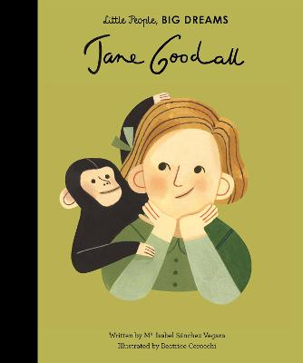 Book Cover for Jane Goodall by Isabel Sanchez Vegara
