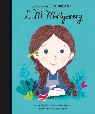 Book Cover for L. M. Montgomery by Isabel Sanchez Vegara