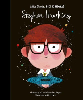 Cover for Stephen Hawking by Isabel Sanchez Vegara