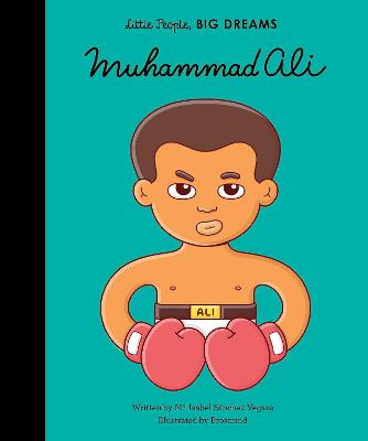 Cover for Muhammad Ali by Isabel Sanchez Vegara