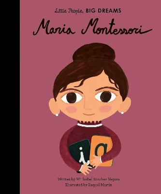 Cover for Maria Montessori by Isabel Sanchez Vegara