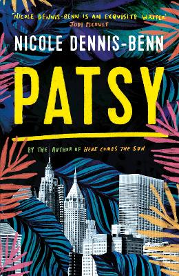 Cover for Patsy by Nicole Dennis-Benn
