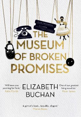 Cover for The Museum of Broken Promises by Elizabeth Buchan