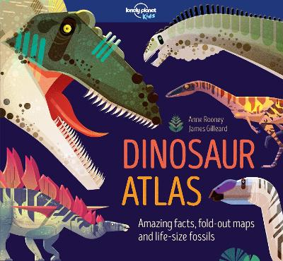 Cover for Dinosaur Atlas by Lonely Planet Kids