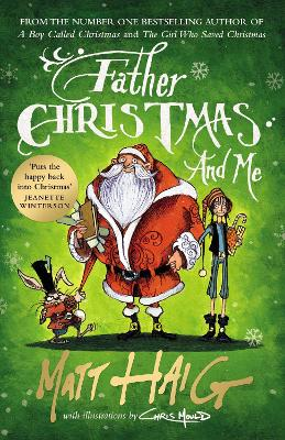 Cover for Father Christmas and Me by Matt Haig