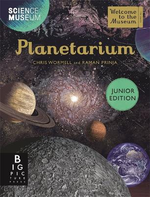 Cover for Planetarium Junior Edition by Raman Prinja