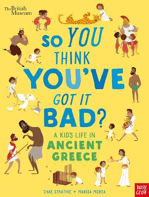 Cover for A Kid's Life in Ancient Greece by Chae Strathie