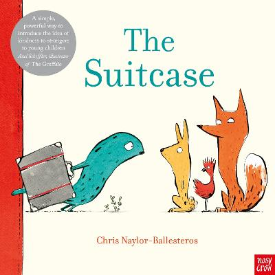 Book Cover for The Suitcase by Chris Naylor-Ballesteros