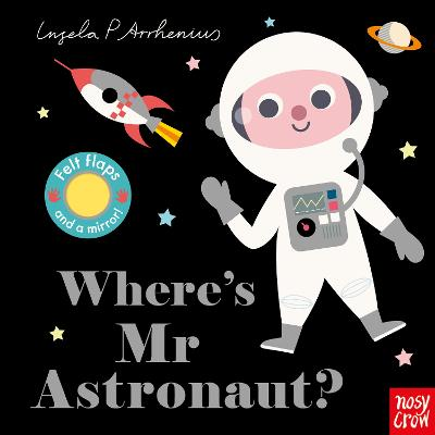 Book Cover for Where's Mr Astronaut? by Ingela P Arrhenius