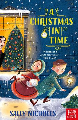 Cover for A Christmas in Time by Sally Nicholls