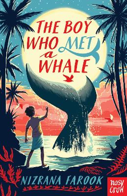 Cover for The Boy Who Met a Whale by Nizrana Farook