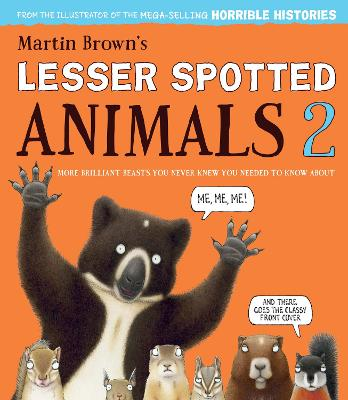 Cover for Lesser Spotted Animals 2 by Martin Brown