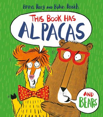 Cover for This Book Has Alpacas by Emma Perry