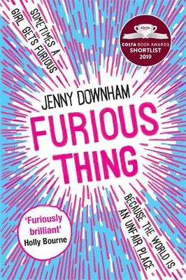Cover for Furious Thing by Jenny Downham