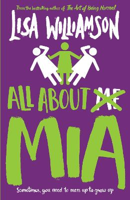 Cover for All About Mia by Lisa Williamson