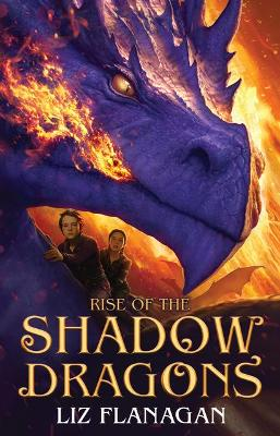 Cover for Rise of the Shadow Dragons by Liz Flanagan