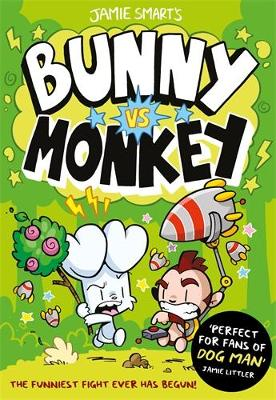 Cover for Bunny vs Monkey by Jamie Smart